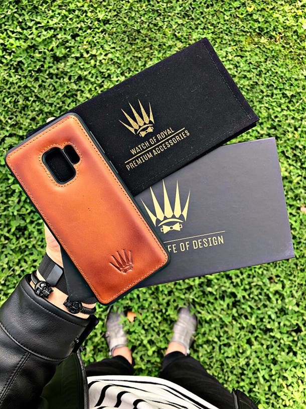 SAMSUNG S9 TABA LEATHER