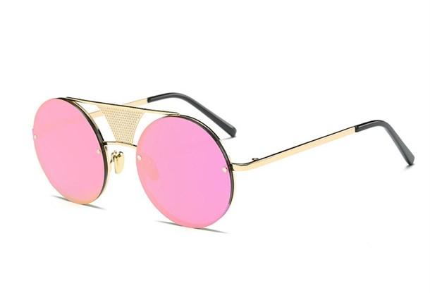 STEAMPUNK PINK SUNGLASSES