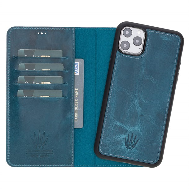 MAGIC WALLET IPHONE 11 PRO MAX TURQUOISE WALLET + CASE
