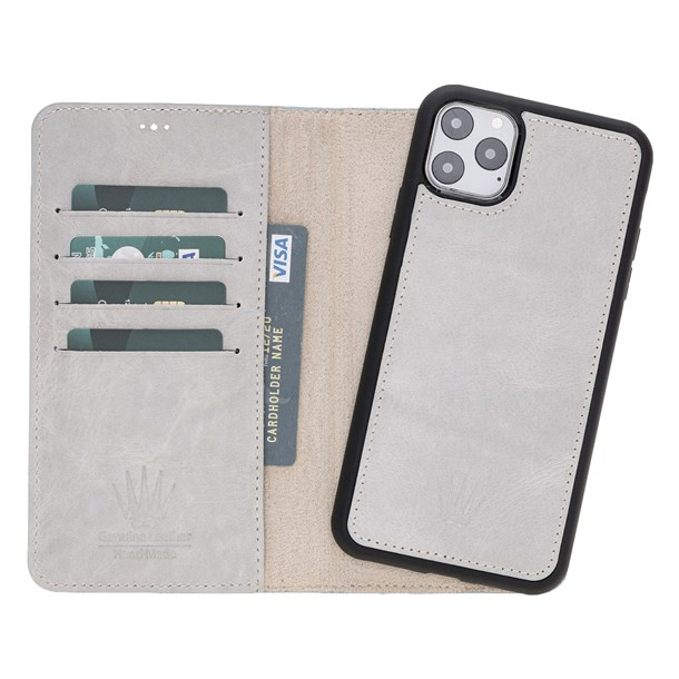 MAGIC WALLET IPHONE 11 PRO MAX WHITE WALLET + CASE