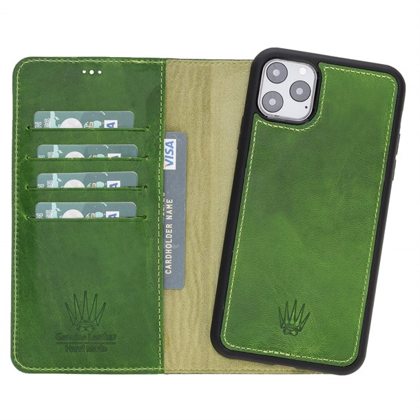 MAGIC WALLET IPHONE 11 PRO MAX GREEN WALLET + CASE