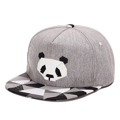 GREY PANDA HİPHOP ŞAPKA