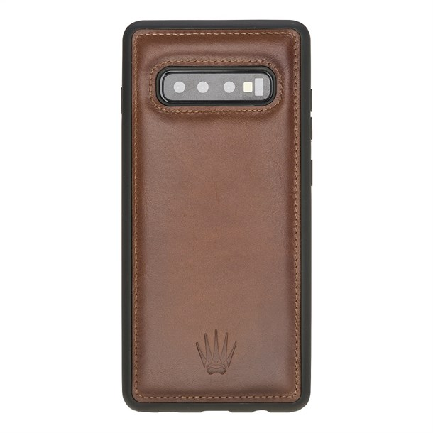 SAMSUNG S10 PLUS TABA LEATHER CASE