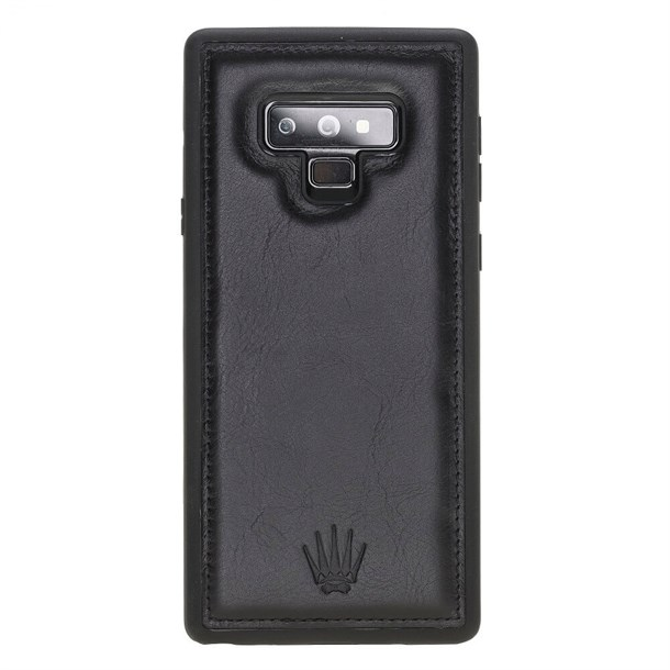 SAMSUNG NOTE 9 BLACK LEATHER