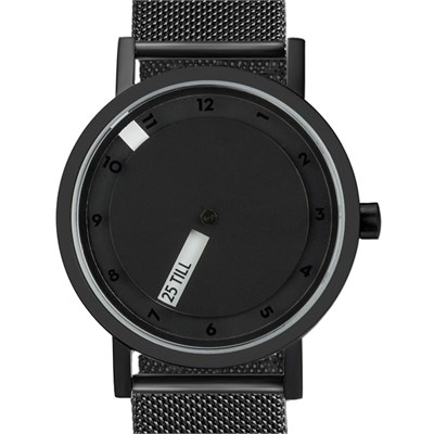 Projects Watches Till Black Mesh Watches UNISEX Watches