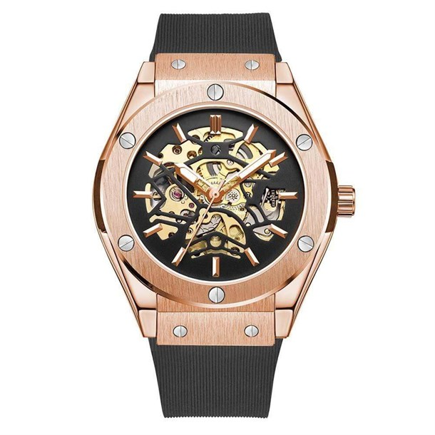 ROYAL BIGBANG ROSE GOLD AUTOMATIC WATCH