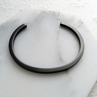 BIG STEEL TITANIUM BLACK  BRACELET