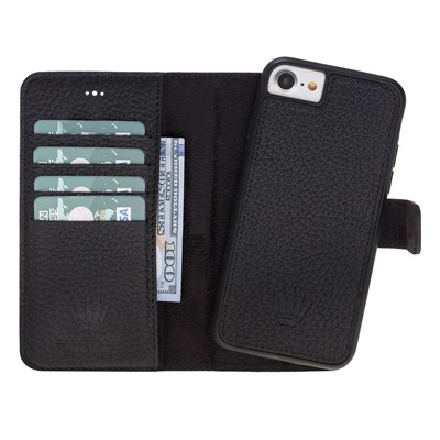 MAGIC WALLET IPHONE 6-7-8 BLACK 2IN1
