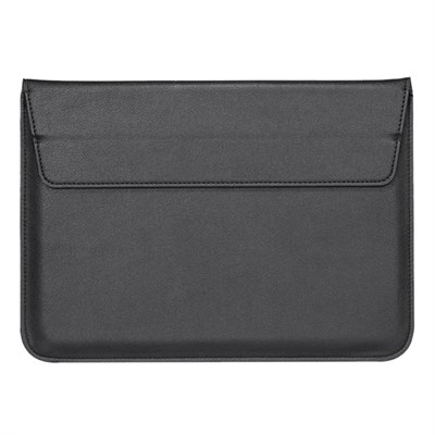 "MAGNETIC BLACK LAPTOP SLEEVE 15.4"" inch"