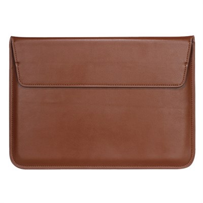 "MAGNETIC BROWN LAPTOP SLEEVE 15.4"" inch"