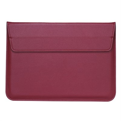 "MAGNETIC RED LAPTOP SLEEVE 15.4"" inch"