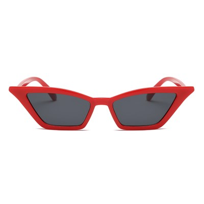 SMALL VINTAGE RED BLACK SUNGLASSES