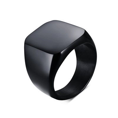 VIKING BLACK TITANIUM RING