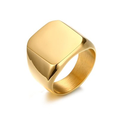 VIKING GOLD TITANIUM RING