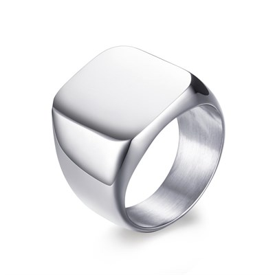 VIKING SILVER TITANIUM RING