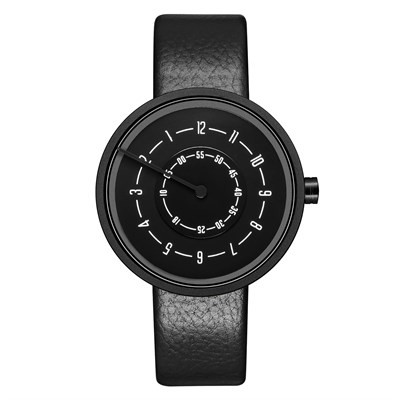 ARROW LINE BLACK LEATHER Watches