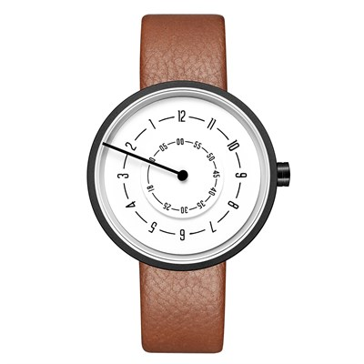 ARROW LINE BROWN LEATHER KOL SAATİ