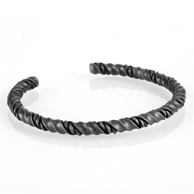 CURLING BLACK STELL BRACELET