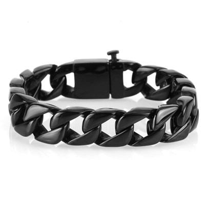 INTEGER BLACK BRACELET