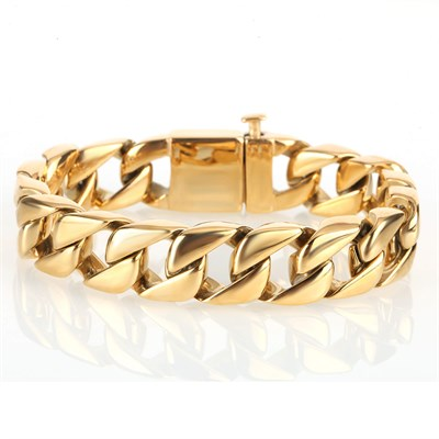 INTEGER GOLD BRACELET