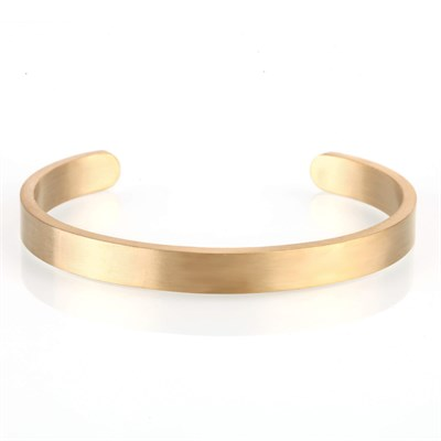 MATT GOLD WIDE OPEN BRACELET