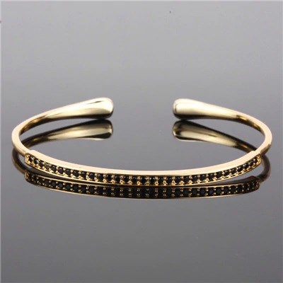 LUXURY ZIRCON SLIM GOLD BİLEKLİK