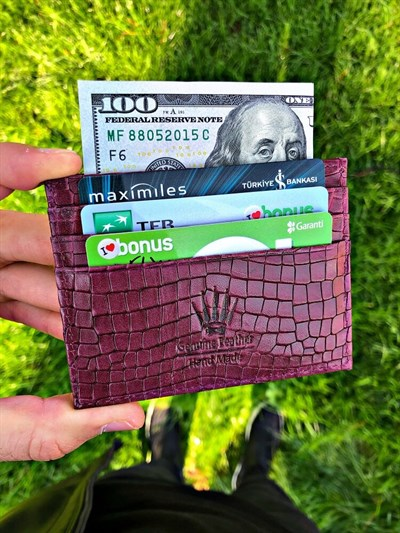 CARD HOLDER BORDO MILANO LIMITED EDITION