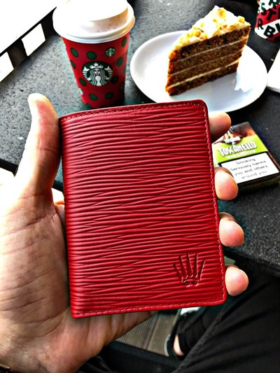 BIFOLD SLIM RED CÜZDAN