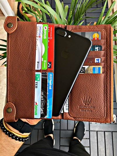 DUAL POCKET TABA PHONE WALLET