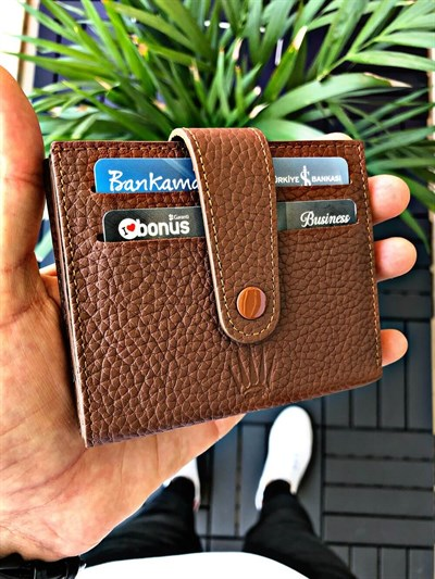 JUST TABA GENUINE LEATHER WALLET