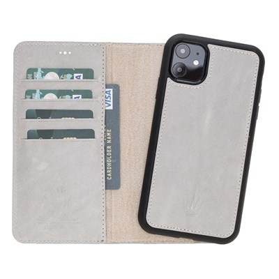 MAGIC WALLET IPHONE 11 WHITE WALLET + CASE