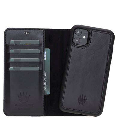 MAGIC WALLET IPHONE 11 BLACK WALLET + CASE
