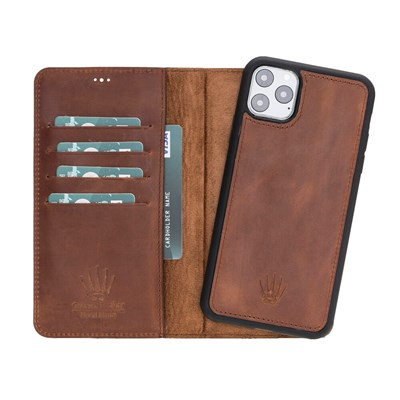 MAGIC WALLET IPHONE 11 PRO MAX CRAZY TABA WALLET + CASE