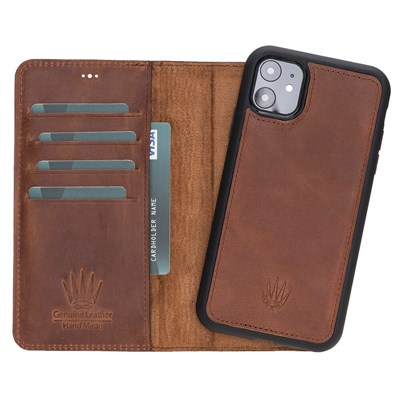 MAGIC WALLET IPHONE 11 CRAZY TABA WALLET + CASE