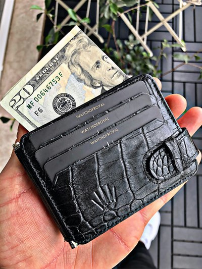 MONEY CLİP CROCO WALLET