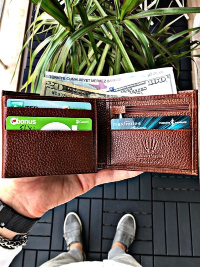 PAPEL TABA GENUINE LEATHER WALLET