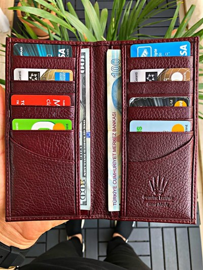 WELL BURGUNDY WALLET