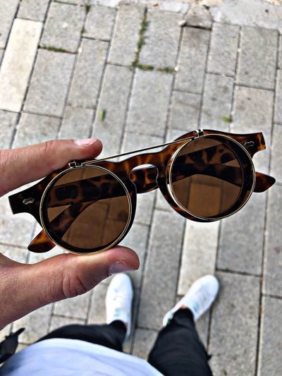 GLOW BANG POLARIZED LEOPARD OPTIC & SUNGLASSESSUNGLASSESGÜNEŞ GÖZLÜĞÜGLWBNGLGLOW BANG POLARIZED LEOPARD OPTIC & SUNGLASSES