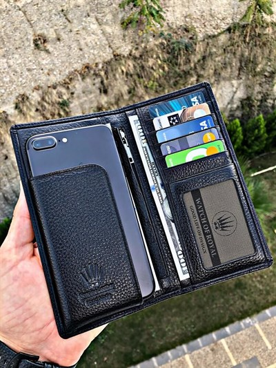 GREAT BLACK PHONE WALLET