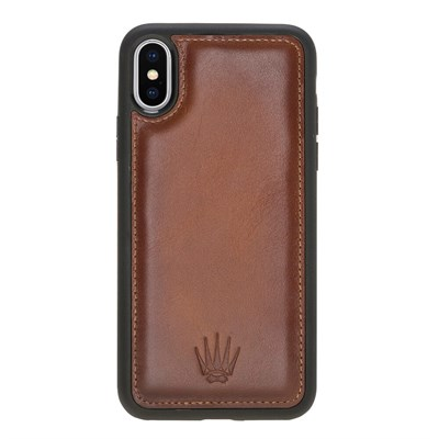 IPHONE X/XS TABA LEATHER KILIF