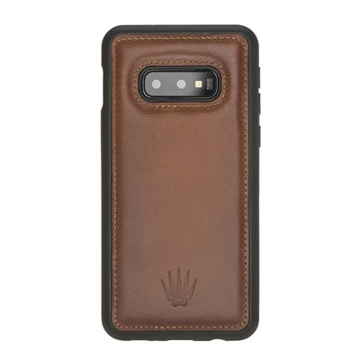 SAMSUNG S10E TABA LEATHER KILIF