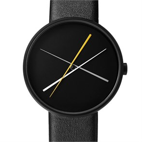 Projects Watches Crossover Black Leather Kol Saati Unisex Kol Saati
