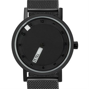 Projects Watches Till Black Mesh Kol Saati Unisex Kol Saati