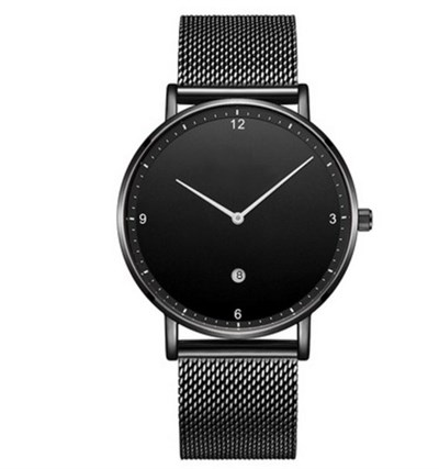 AURORA SLIM BLACK STELL MESH Watches