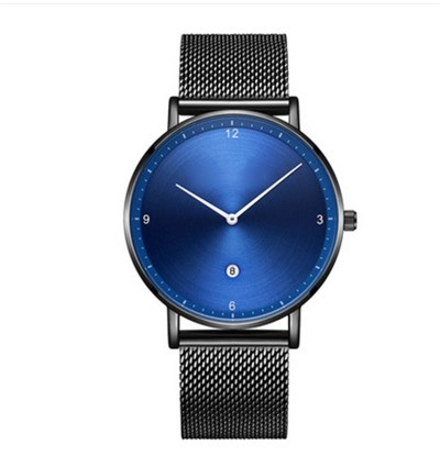 AURORA SLIM BLUE STELL MESH Watches