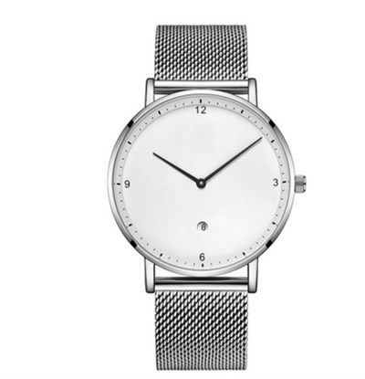 AURORA SLIM SILVER STELL MESH Watches