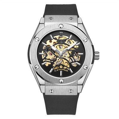 ROYAL BIGBANG SILVER RUBBER AUTOMATIC Watches