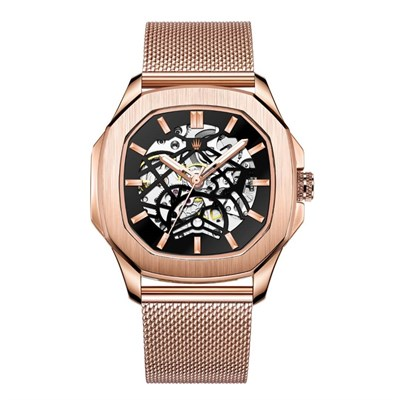PEERLESS ROSE GOLD STELL MESH  Watches