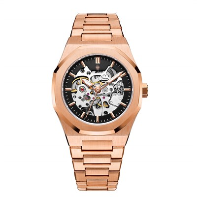 ROYAL CROWN AUTOMATIC ROSE GOLD KOL SAATİ