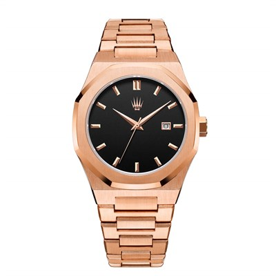 ROYAL CROWN ROSE GOLD KOL SAATİ
